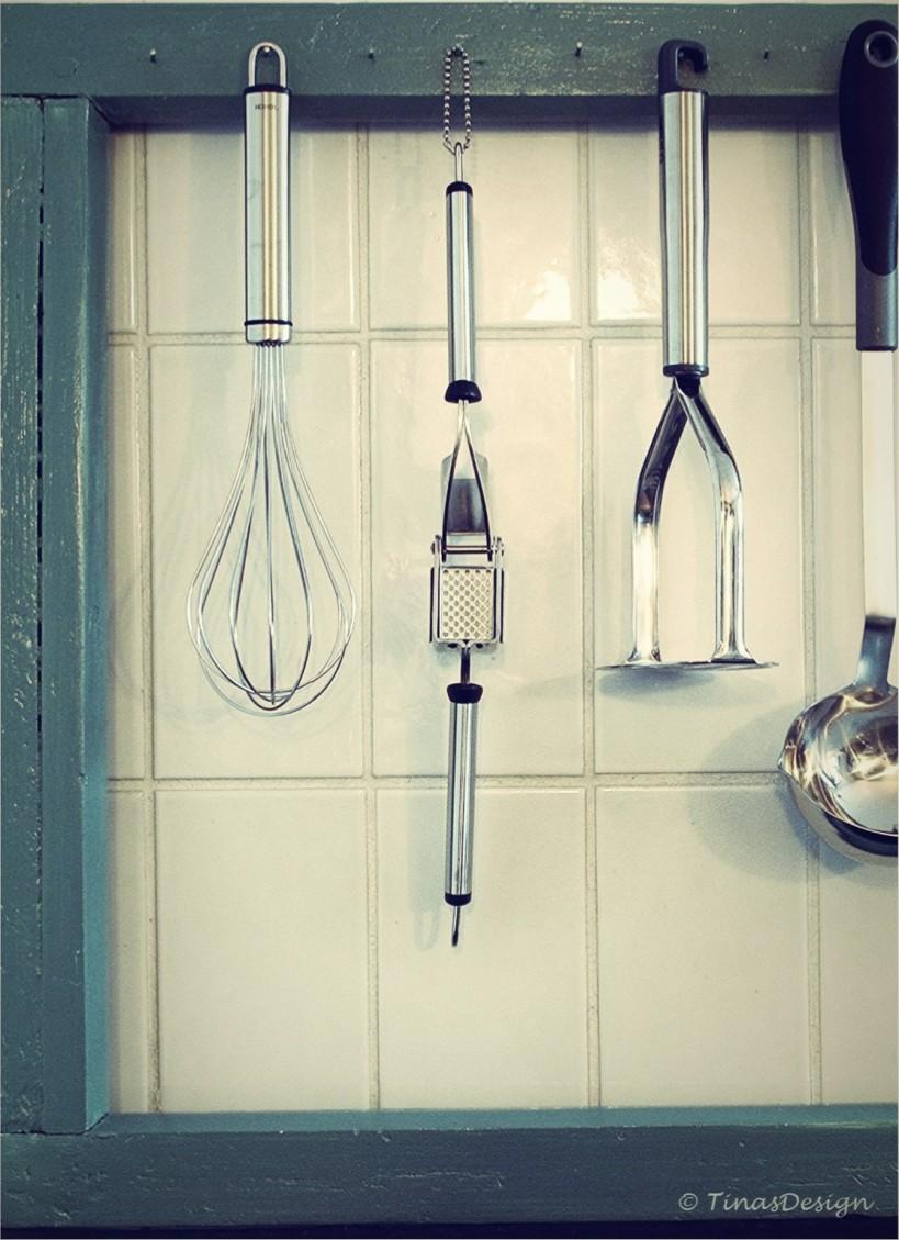 Ikkunakehys keittiöväline vintage