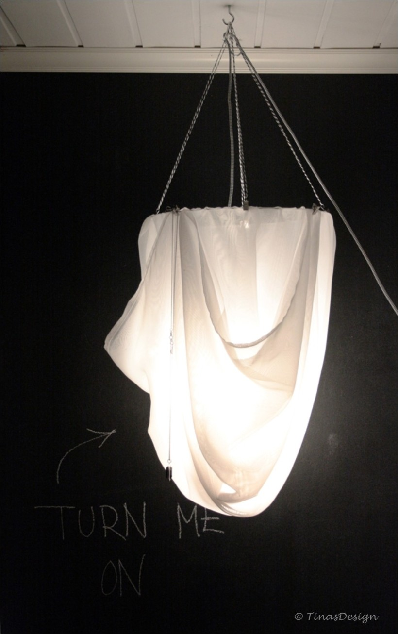 Curtain Chandelier with necklace 3